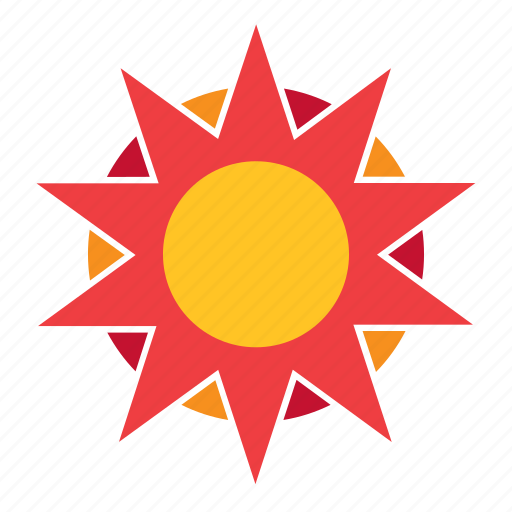 Abstract, flower, nature, shape, sun, sunset, weather icon - Download on Iconfinder