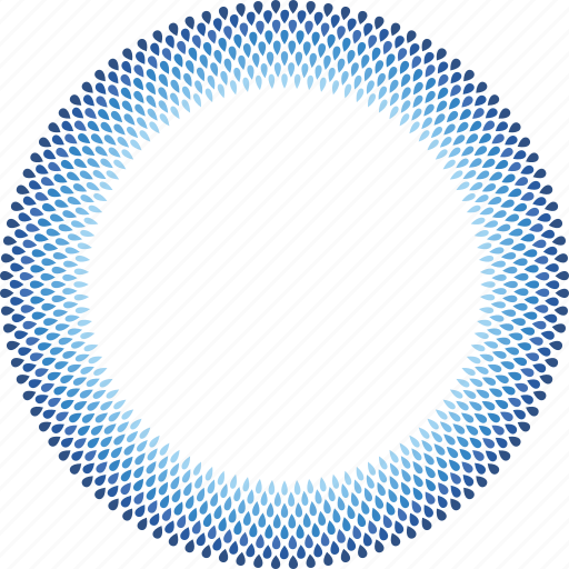 Transparent Background Blue Circle Png
