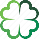 clover, fortune, four, leaf, luck icon