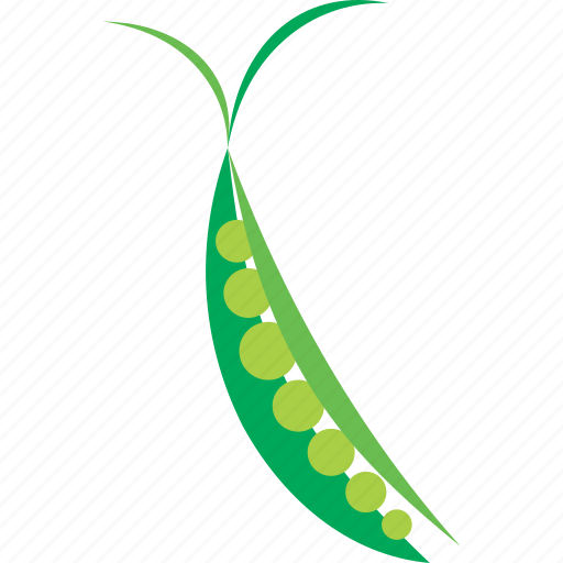 green, pea, peas, vegetable icon
