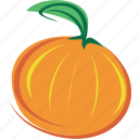 fruit, juice, leaf, mandarin, orange icon