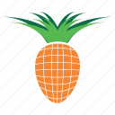 fruit, pineapple, plant icon