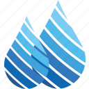 rain, drop, water, logo, weather