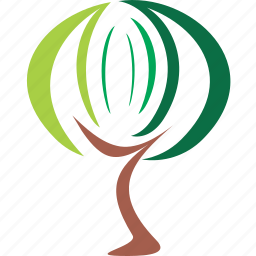 design, element, logo, nature, sign, stylized, tree icon