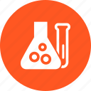 chemicals, chemistry, experiment, flask, laboratory, research, test tube