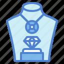 diamond, jewelry, luxury, necklace