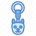 accessories, cat, key, keychain, ring