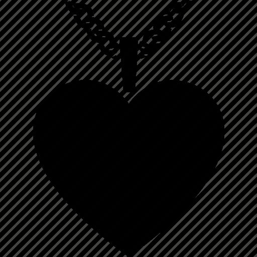 heart, jewellery, jewelry, locket, pendant, shaped icon