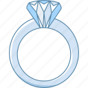 diamond, engagement, jewellery, jewelry, ring, romance, wedding icon