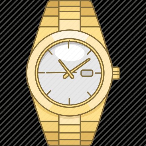 accessory, rollex, time, timepiece, watch, wrist icon