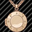 jewellery, jewelry, locket, pendant, photo, picture, round