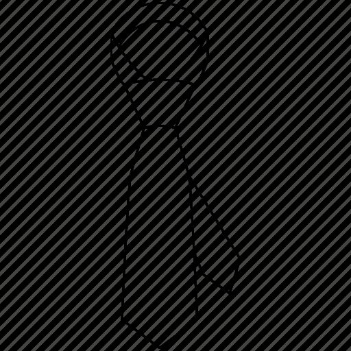 clothing, menswear, neck, necktie, suit, tie icon