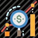 graph, growth, increase, money, profit