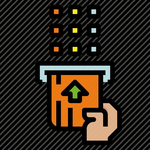atm, cards, credit, debit icon