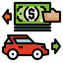 car, credit, loans icon