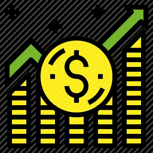 high, money, value icon