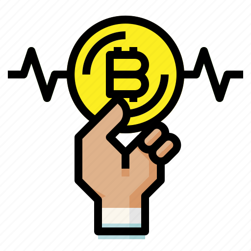 bitcoin, cryptocurrency, digital, money icon