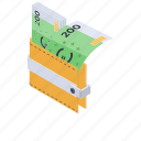 billfold, cash wallet, currency, finance wallet, savings icon