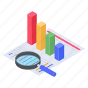 business analysis, business analytics, data analysis, data analytics, graphical representation icon