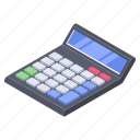 accounting, arithmetics, business, calculator, mathematics icon