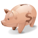 bank, piggy icon