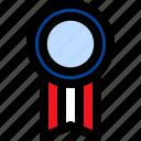 ribbon, achievement, medal, winner, prize, award, reward