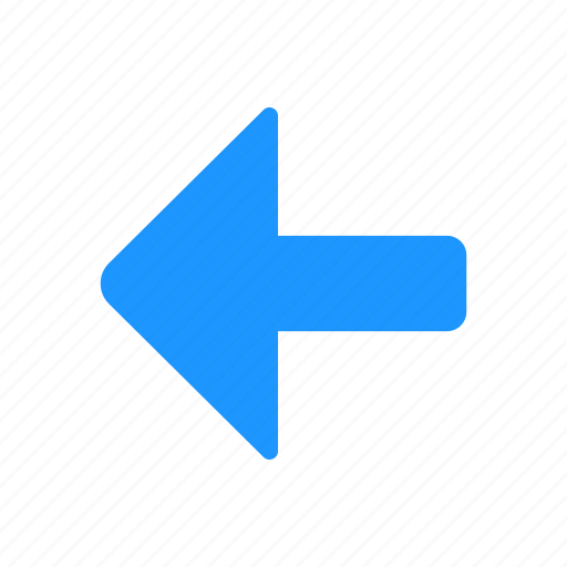 arrow, back button, navigation, pointer icon