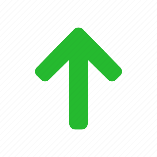 arrow, navigation, up, upload icon