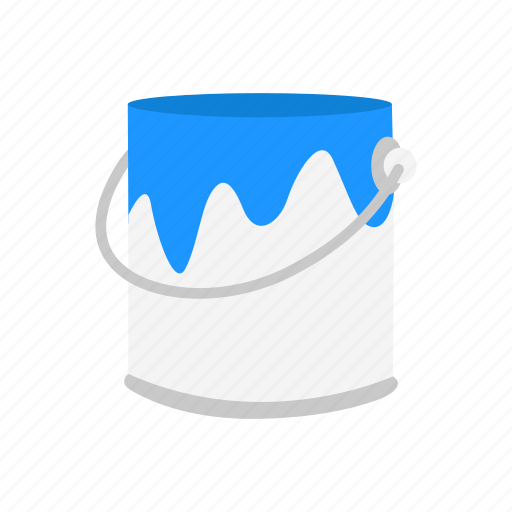 color, container, paint, paint bucket icon