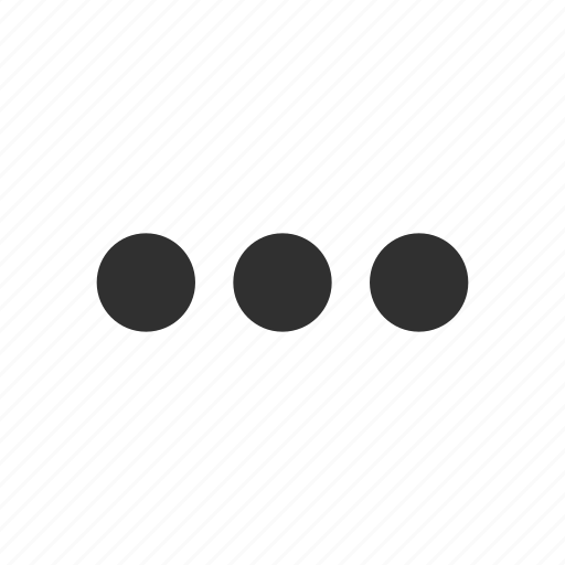 circles, edit tool bar, notification, setting icon
