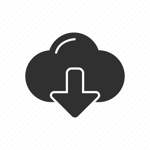 cloud, download, download file, icloud icon
