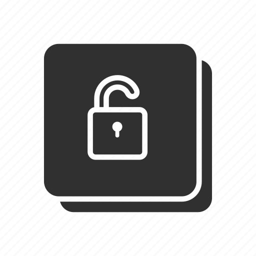padlock, security, unlock, unsecure icon
