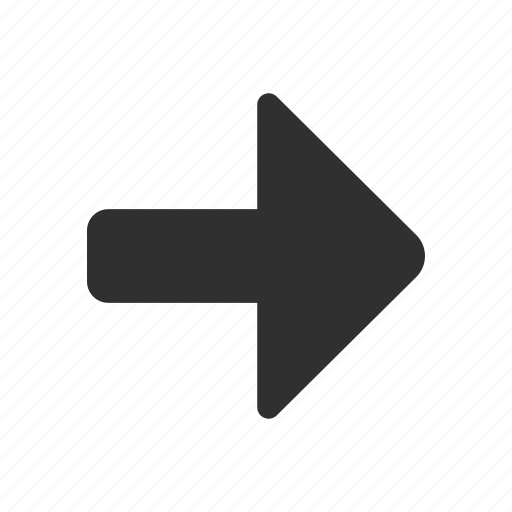 arrow, arrow right, navigate, pointer icon