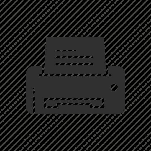 photocopy, print, printer, scanner icon