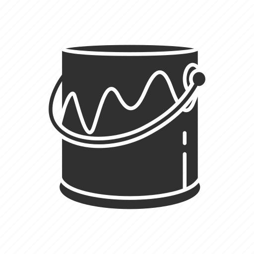 color, paint bucket, paint bucket tool, photoshop tools icon