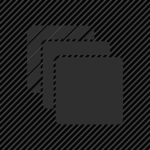 artboard, layer, shape, squares icon