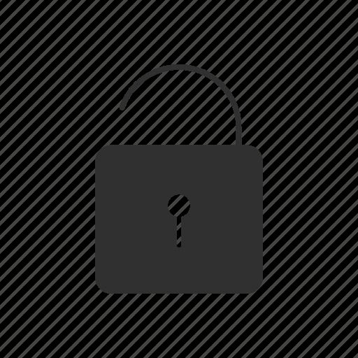 padlock, security padlock, unlock, unsafe icon