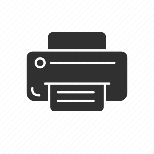 ink jet printer, print, printer, publish icon