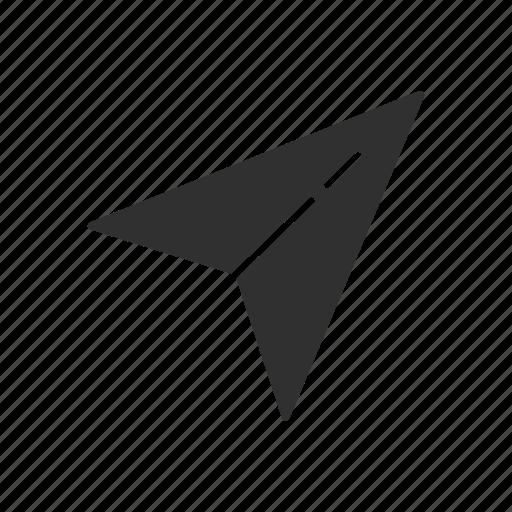 arrow, cursor, navigator, pointer icon