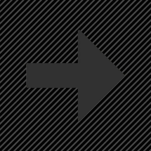 arrow, arrow right, cursor, navigate icon