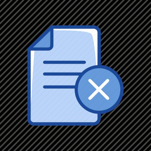 document, erase document, remove text, text icon