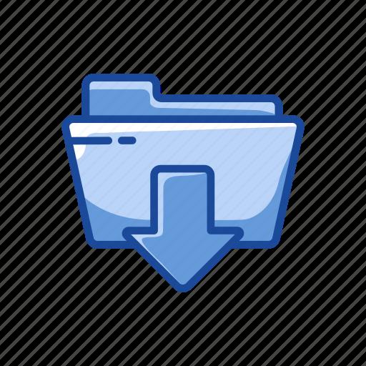 download file, folder, upload, upload file icon