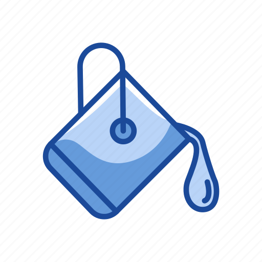 bucket, color, paint, paint spill icon