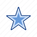 favorite, gold star, rating, star icon