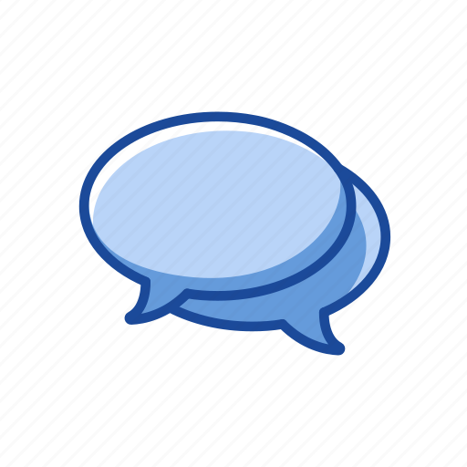 chat, comments, message, word bubble icon