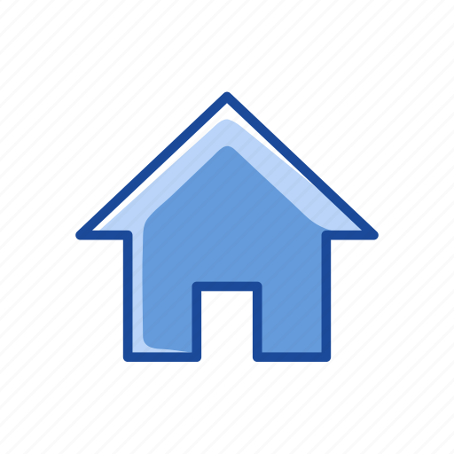 home, home page, house, profile icon