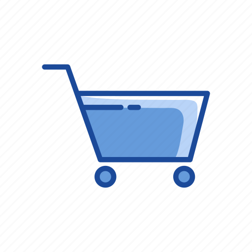 cart, ecommerce, push cart, shopping cart icon