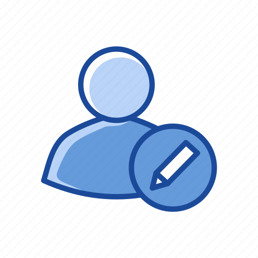 edit client, edit contact, edit profile, user profile icon