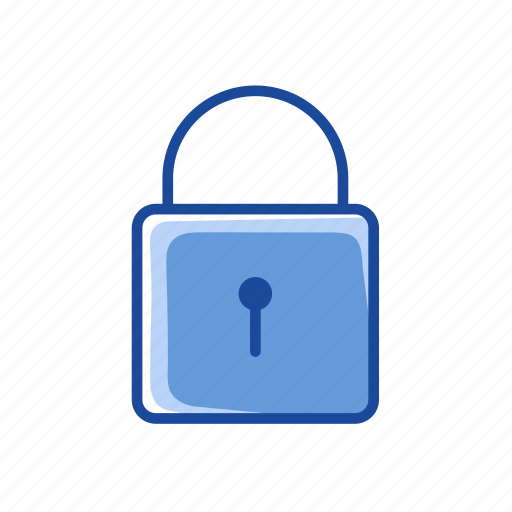 locked, padlock, security, security lock icon