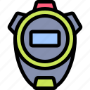 active, healthy, lifestyle, sport, stopwatch icon